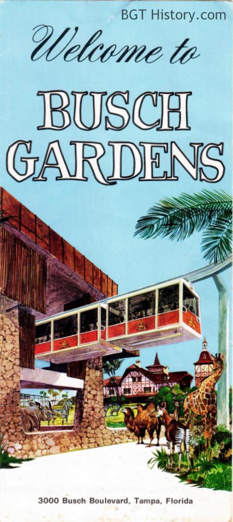brochures bgt history busch gardens tampa history