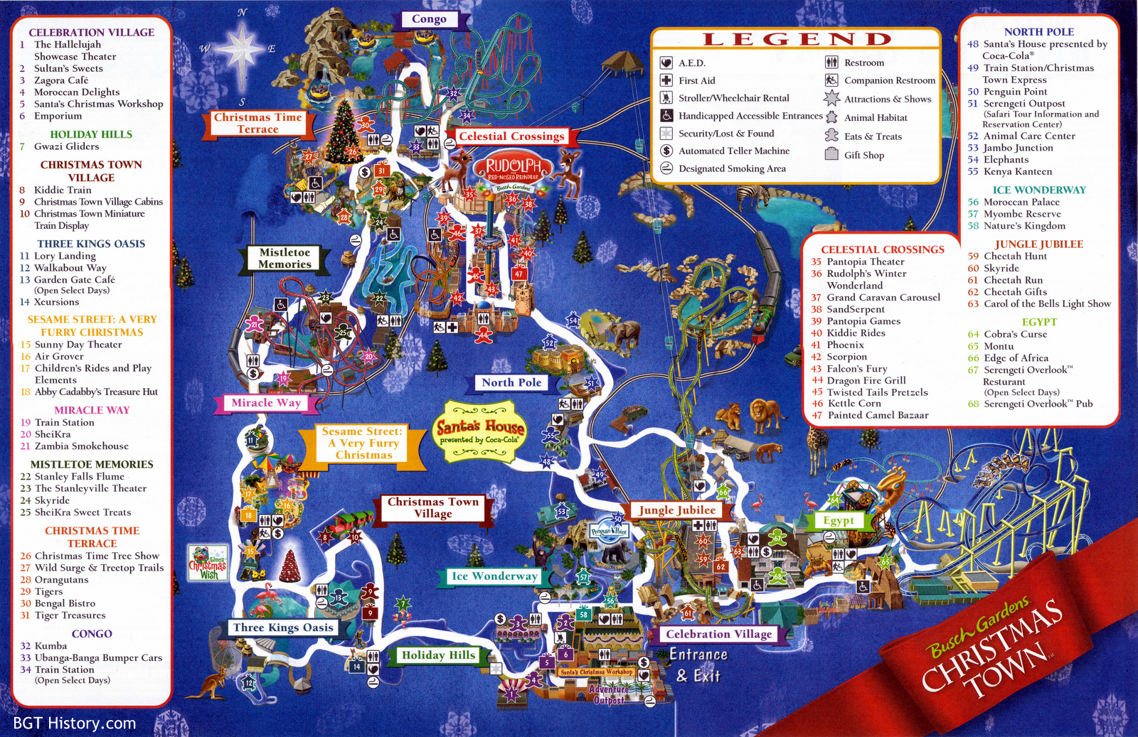 Popular 179 List Busch Gardens Tampa Map