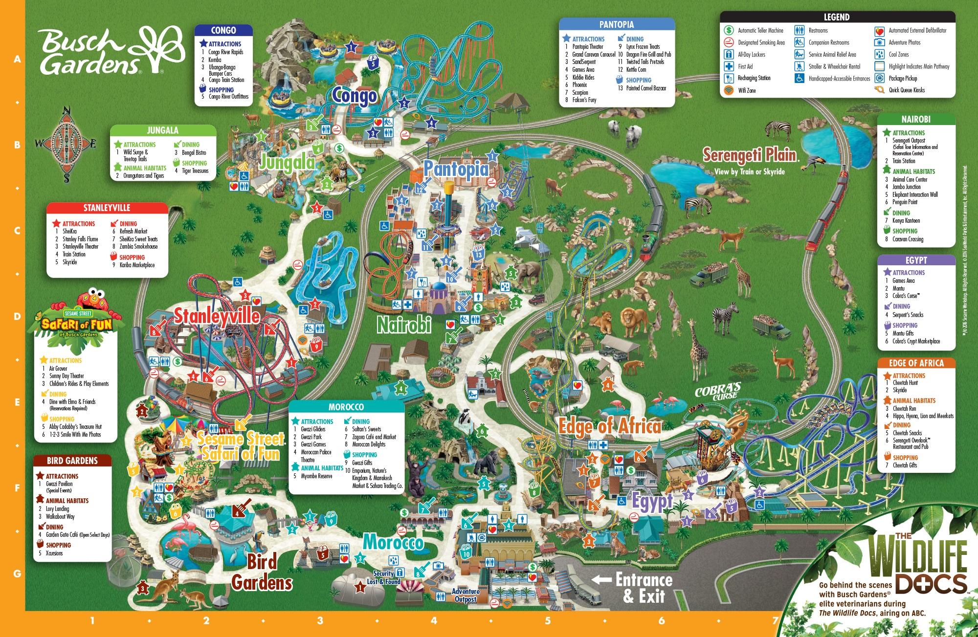 Pokemon World Map 2017.Maps Bgt History Busch Gardens Tampa History